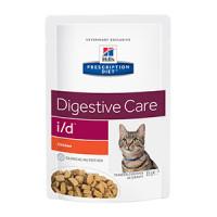 Hills Prescription Diet I/D Feline, Chicken Pouch, 12x85 g.