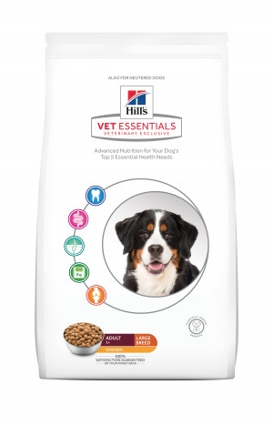 Hills VetEssentials Adult Large Breed, 13 kg, Kylling