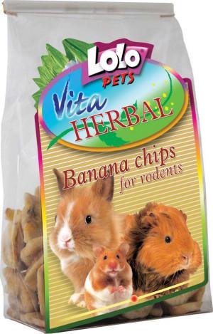 Herbal, Banana Chips 100g