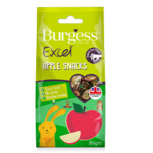 Burgess Excel Nature snack Apple 80 gr