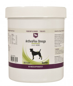 ArthroFlex Omega Treats 120 stk, small dog
