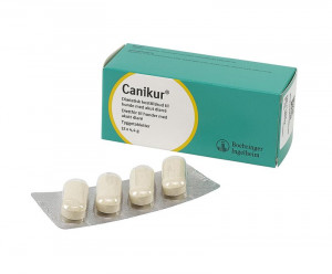 Canikur tabletter 4,4 g, 12 stk