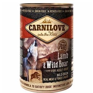 Carnilove Dog Vådfoder, Lam & Vildsvin 400g