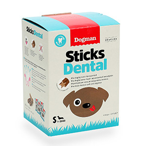 Dogman Dental Sticks Sma