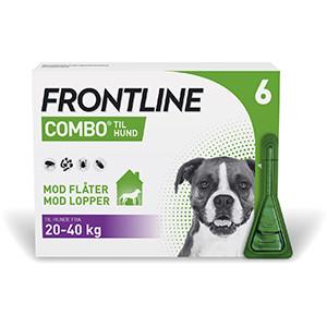 Frontline Combo hund 20-40 kg 6 stk