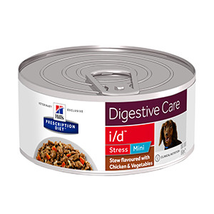 Hills PD Canine i/d Stress Mini Stew Chicken & Vegetables, 156g