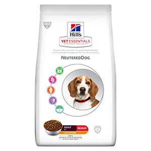 Hills Vet essentials Adult Neutered Dog Medium, Chicken, 10kg