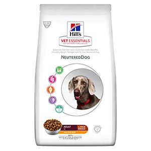 Hills Vet essentials Adult Neutered Dog Large Breed, Chicken, 12kg