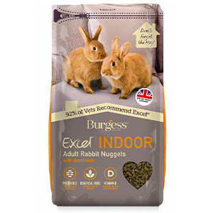Indoor rabbit burgess excel 1,5kg