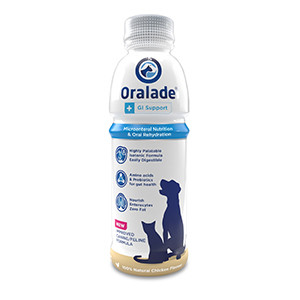 Oralade+GI - Elektrolytblanding i flydende form