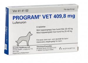 Program Vet til Hund 6 tabl 20-40 kg