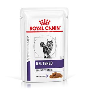 Royal Canin Neutered Adult Maintenance Kat, 12x85g, Vådfoder
