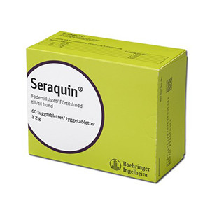 Seraquin Tuggtablett 2 g 60 st.
