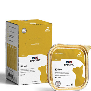Specific FPW Kitten 7x100 g. vådfoder til katte