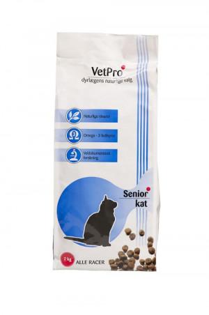 VetPro Senior Kattefoder, 2 kg