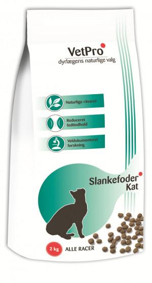 VetPro Slanke Kattefoder, 2 kg