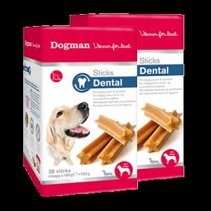 Dogman Dental Sticks Large