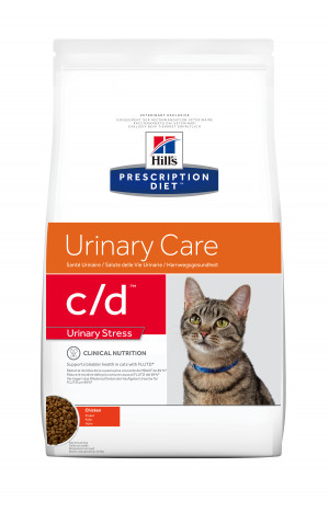 Hills Prescription Diet C/D Feline Urinary Stress, 8 kg