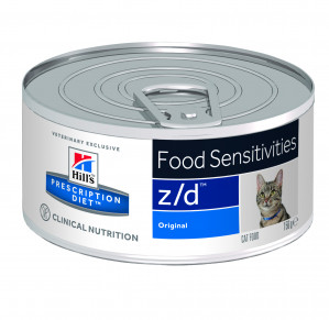 Hills Prescription Diet Z/D, Kat, 156g Vådfoder