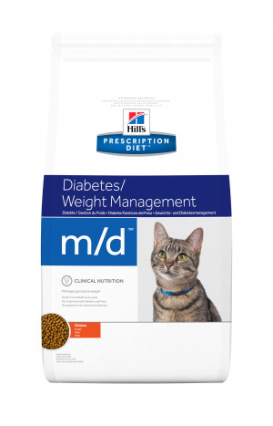 Hills Prescription Diet m/d Feline, 5 kg