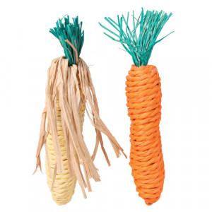 Sisalgrøntsager, Gulerod og Majskolbe