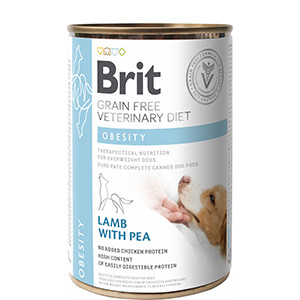 Brit Veterinary Diet Dog Can Obsesity, 400 g