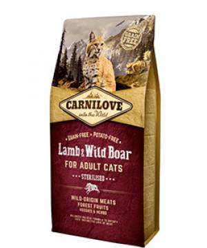 Carnilove Cat Adult - Lamb & Wild Boar
