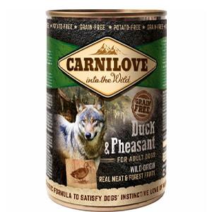 Carnilove Dog Vådfoder, And & Fasan, 400g