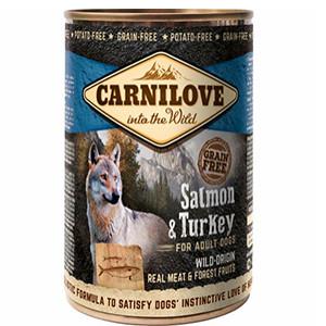 Carnilove Dog Vådfoder, salmon, 400g