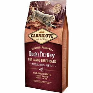 Carnilove Cat Large Breed, Duck & Turkey