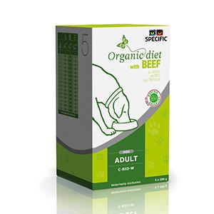 Specific C-BIO-W Organic Diet, Vådfoder hund