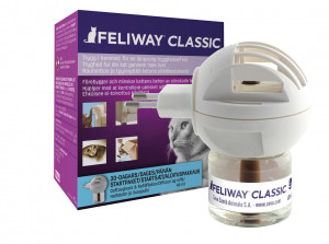 Feliway Classic diffusor og refill 1 stk. 48 ml