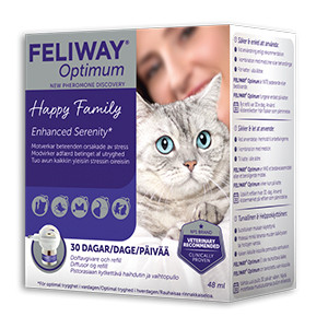 Feliway Optimum Diffusor + refill 48 ml