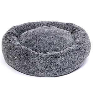 KW Fluffy Donut Hundeseng, Ø 50cm grå