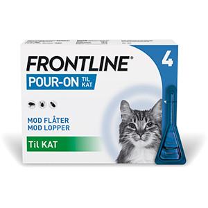 Frontline Pour-on Vet kat 4 stk.