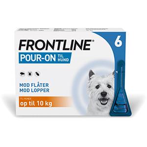 Frontline hunde op til 10kg