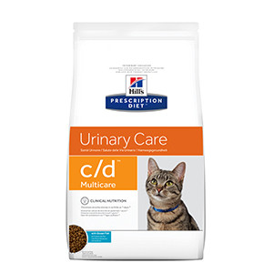 Hills Prescription Diet c/d Feline kat Ocean Fish