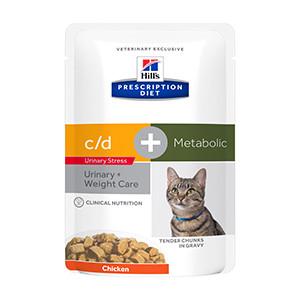 Hills PD feline, c/d Urinary Stress + Metabolic, 12x85