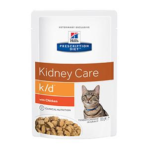 hills k/d Feline Kidney Care Chicken 12x85 g