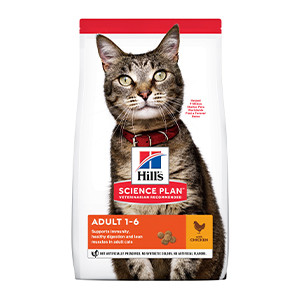 Hill's Science Plan Adult Cat food Chicken, 10kg
