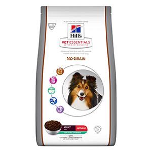 Hills Vet essentials Adult Dog Medium, No Grain, Tuna, 10 kg