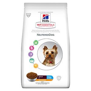 hills Vet Essentials Canine Adult Neutered Dog Small & Mini Chicken