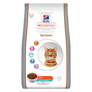 Hill's VET ESSENTIALS NO GRAIN Adult kattefoder med tun & kartoffel
