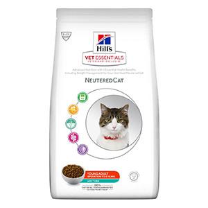 Hill's VET ESSENTIALS NEUTEREDCAT Young Adult kattefoder med tun