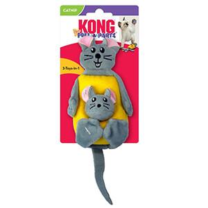 KONG Pull-A-Partz Cheezy, Kattelegetøj